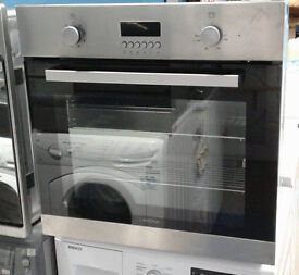 w214 stainless steel lamona single electric oven comes with warranty can be delivered or collected