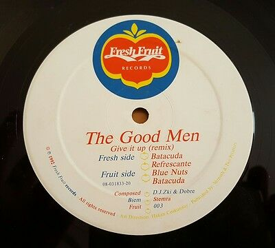 The Good Men   Give It Up  Remix  12  Vinyl Single