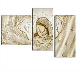quadri dipinti a mano madonna con bambino per camera da letto ... - Capezzali Per Camera Da Letto
