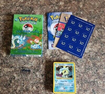 1999 WOTC Pokemon Overgrowth Theme Deck. Cards Are Mint