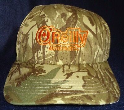 Oreilly Auto Parts Camouflage Baseball Hat