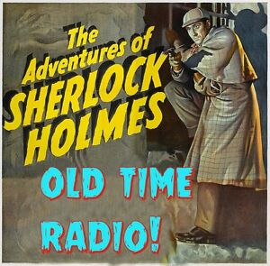 The New adventures of Sherlock Holmes OTR 476 episodes mp3 DVD *old time radio*!