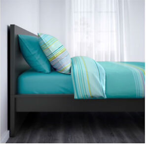 IKEA MALM Bed Frame Black-brown Queen
