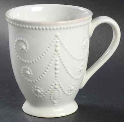 Lenox FRENCH PERLE-WHITE Mug 8800015 - French White-mug