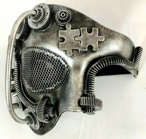 Steampunk Phantom Opera Mask Horror Gothic Goth Cosplay Collectible Halloween