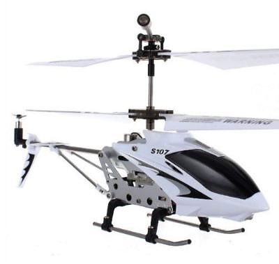 Best Syma R/C Helicopter with Gyro White Rechargeable Remote Control S107G 3