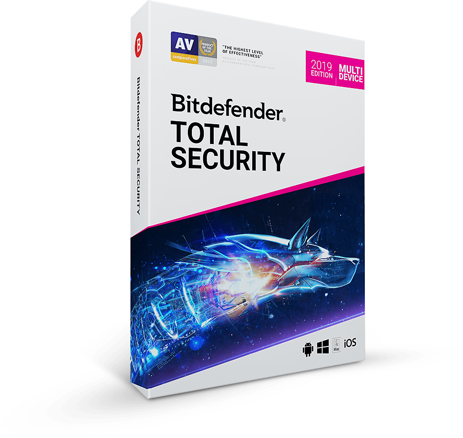 Bitdefender Total Security 120 days 5 devices license key region-free