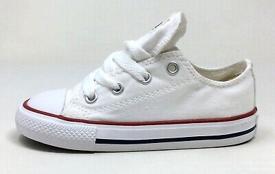 Converse Unisex Kids CT All Star Ox Skate Shoes Optical White Size 3