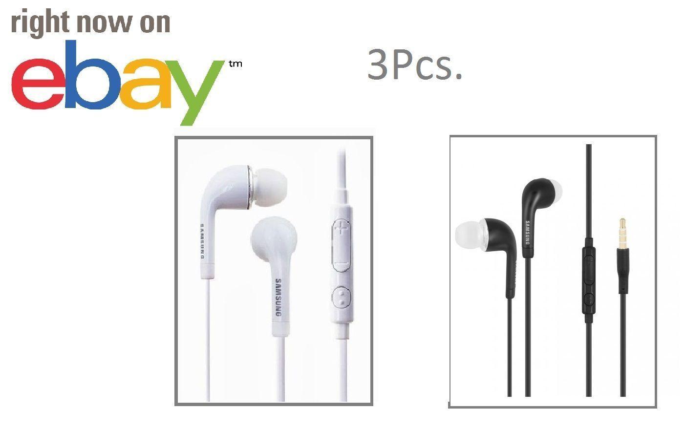 3x OEM  Android Samsung Galaxy Headset Earphone Earbud Volum