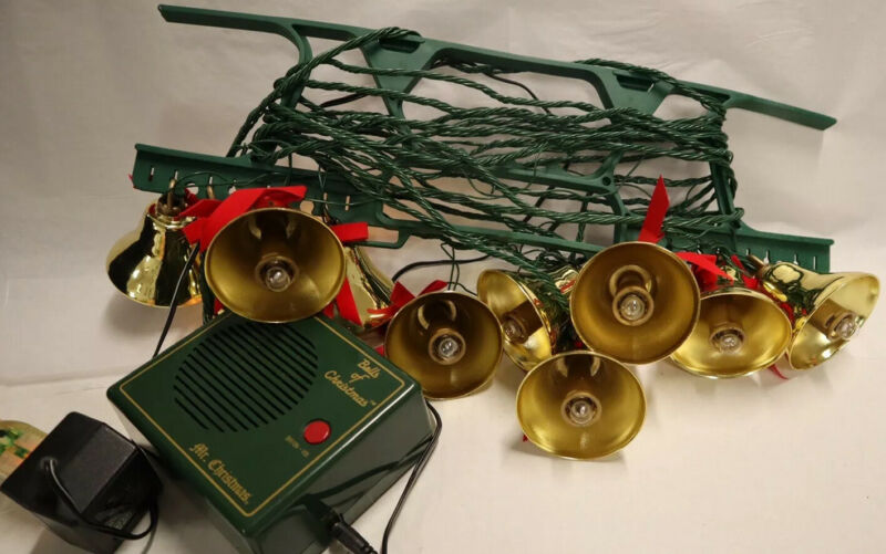 Vintage Bells of Christmas by Mr. Christmas Holiday Innovation 10 Musical Bells