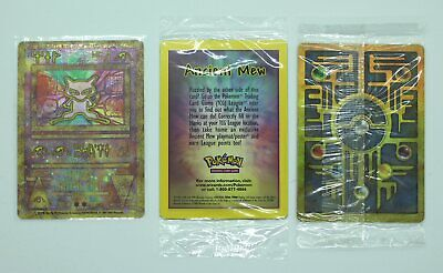 Ancient Mew Pokemon 2000 Movie Holo Promo Pokemon Cards - New sealed in packet