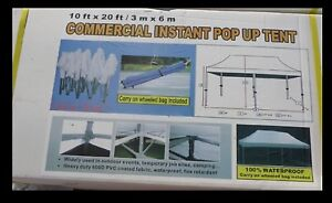 New Commercial tent.