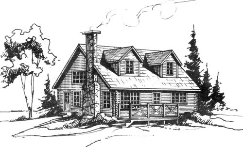 LOG CABIN HOME shell kit logs 1300 sq.ft Free delivery in Utah!