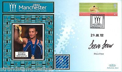 "2002 Commonwealth Games - Benham ""Special"" - Signed by STEVE FREW"