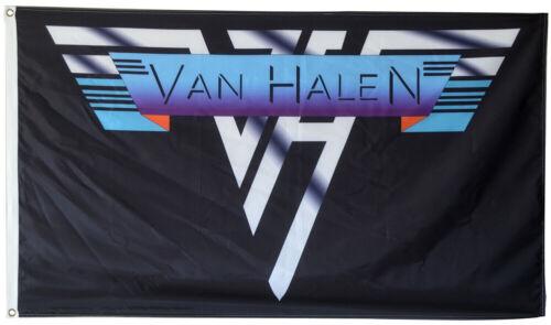 VAN HALEN 3X5 FLAG 3 X 5 Banner Wall Poster Fast Free USA Shipper New