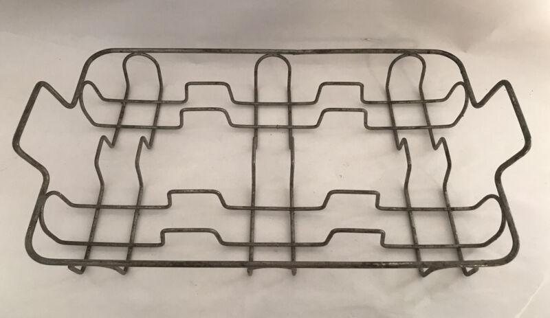 Vintage Kitchen Toy Metal Wire Dish Drainer Rack Childs Size