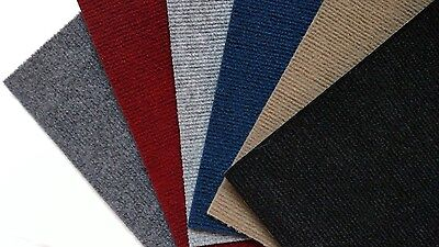 Flooring Carpet Tiles Peel and Stick Choice Colors Red Gray
