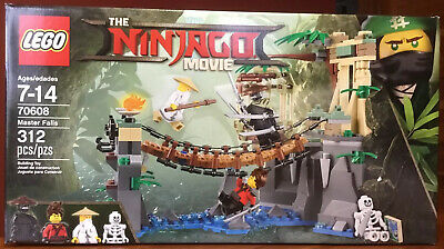 LEGO THE NINJAGO MOVIE 70608 MASTER FALLS - NIB SEALED