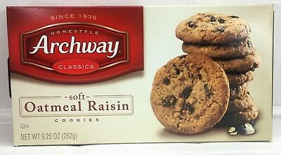 Archway Classic Soft Oatmeal Raisin Cookies 9.25 oz