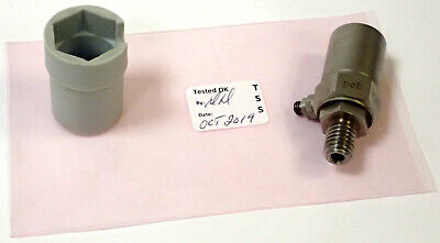 Pcb 308b Uniaxial Icp Accelerometer 100mvg 1-5000 Hz 10-32 Mount Tested