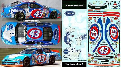 NASCAR DECAL #43 PILSBURY 2003 DODGE JOHN ANDRETTI JWTBM