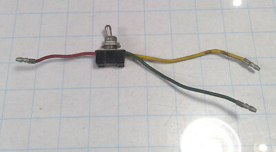 Vintage C-h Spdt Toggle Switch - 1a 250v - 3a 125v - Wire Lead