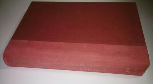 The Seasons Of A Woman s Life - Daniel J. Levinson HARDCOVER BOOK Near Mint Plus - $5.76