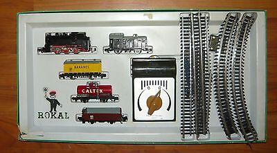 Rokal 01111, Zugset BR80 mit Güterzug, TT, gebraucht & OVP