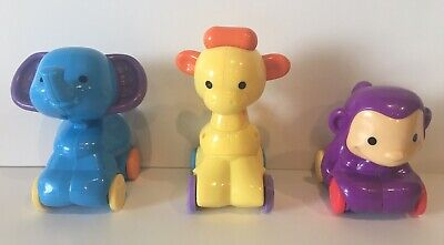 Fisher Price Spinnin' Musical Zoo Amazing Animal Babies - Lot Of 3 Animals Only