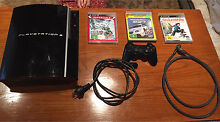 PlayStation 3 + Wireless Controller + Games Ringwood North Maroondah Area Preview