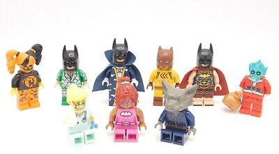 Lego Minifigure Batman Nurse wolf Santa Greedo Halloween