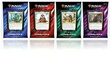 MAGIC THE GATHERING COMMANDER 2019 SET OF 4 DECKS SEALED