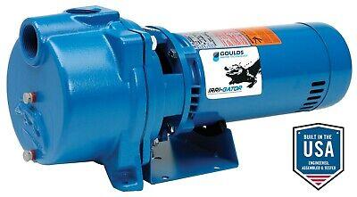 Goulds Gt10b 1hp Water Well Irrigation Sprinkler Pump
