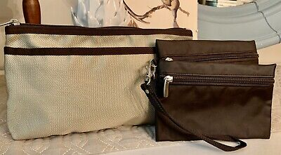 Skip Hop For Pottery Barn Kids Grab and Go Wet-Dry Small Diaper Bag Wristlet