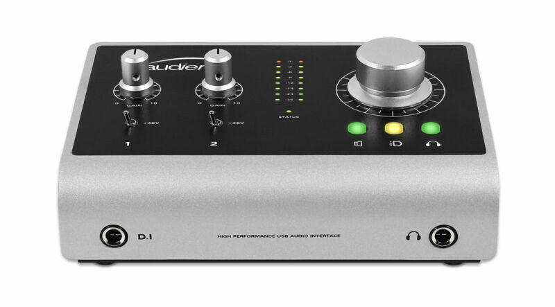 Audient iD14 World Class USB Audio Interface with 2 Mic Pres, JFET DI