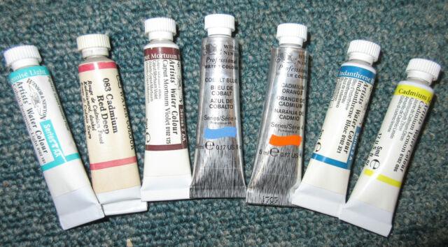 Winsor & Newton Professional Artist Watercolour Paint 5ml Tubes - All Series 1-4