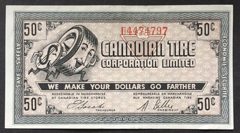 Lot49 Canadian Tire Money 8-D1 Large Serif