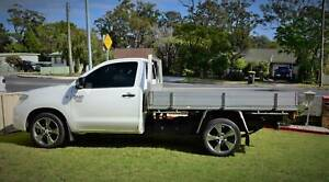 2009 Toyota Hilux Workmate 5 Sp Manual C/chas