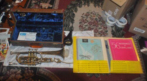 Vintage Getzen Super Deluxe model trumpet  coronet