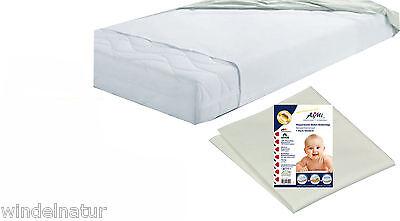 Molton-Betteinlage wasserdicht 40x50cm waschbar Inkontinenz Nässeschutz Baby