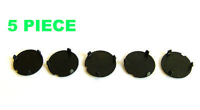 5x ROMIX Engine Compartment Cover Bolt End Cap, AUDI, BMW, SEAT, VW C60042