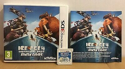 Ice Age 4 Continental Drift Arctic Games - Nintendo 3DS game - Age 3+ (Ice Age 4 Continental Drift Arctic Games)