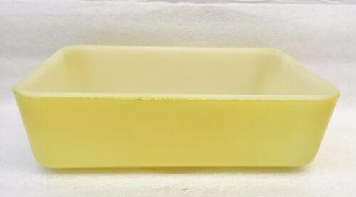 Vintage MAID OF HONOR Yellow Overware Refrigerator Dish