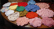 Crochet Doilies Lot