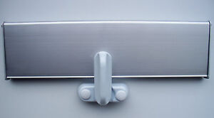 LETTERBOX LOCK IN WHITE WITH ADJUSTER FOR VARIOUS DEPTH INTERNAL LETTERBOX FLAP