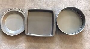 Various Baking and Cake Pans