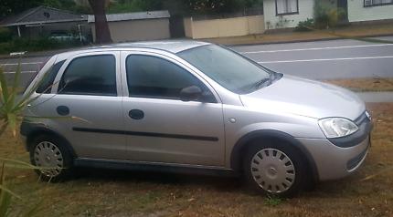 2002 Holden Barina, manual, $2500 or swap? 8 MONTHS REGO