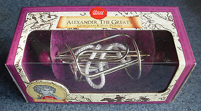 GORDIAN KNOT PUZZLE – Alexander The Great – BRAND NEW in Box!](Gordian Knot Puzzle)