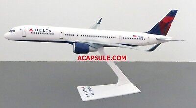 Flight Miniatures Delta Airlines Boeing 757 200 1 200 Scale Model With Stand