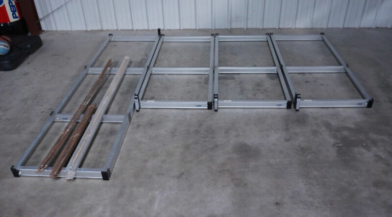 PIPP Mobile Storage Industrial Shelving Track System - $600 (Florence, Al)